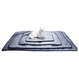 cool pads UK - 1PCS PET Cooling Pads Dog Cat Pads Silver Comfort Pet Mat Mat X-Large, Large, Medium, Small Sizes