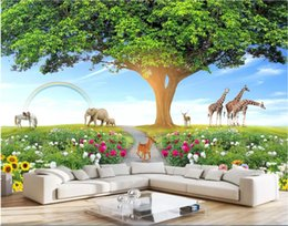 $enCountryForm.capitalKeyWord Australia - 3d wallpaper custom photo mural Life Tree Care Environment Animal World Children's Room Garden Wall flowers home decor wall art pictures