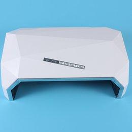 Toptan satış Ücretsiz Kargo Yüksek Kalite Ucuz Fiyat 72 W Taşınabilir Mini Elmas UV Ve LED Işık Tırnak Kurutucu