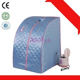 Fold machine online shopping - New selling colors New Portable Folding Home Sauna Steam Spa Weight Loss Body Sauna Slimming Detox massage Machine Sauna Box Pain Relief
