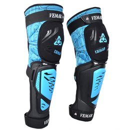$enCountryForm.capitalKeyWord Australia - VEMAR Fireproof Knee Protector Motorcycle Gear Set Men Moto Protect Adjustable Pads Bike Kneepad Brace Armors Off-road MTB DH Guards