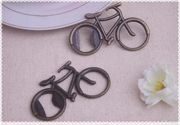 "Discount bicycle opener - Vintage wedding favor gift giveaways-- ""Let's Go On an Adventure"" Bicycle Bottle Opener party favor souve"