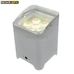 $enCountryForm.capitalKeyWord UK - Professional LED par light 6*18w LED Battery Par Light Mobile WIFI, DMX LED par lights in stage effect