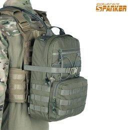 cb6d2562e142 EXCELLENT ELITE SPANKER Outdoor Hunting Camping Hydration Backpack Molle  Military Tactical Army Nylon Hiking Vest Hydration Bags  42509