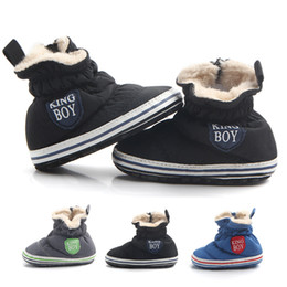 $enCountryForm.capitalKeyWord Australia - Fashion Boys Girls Keep Warm Winter Booties Infant First Walkers Newborn Baby Shoes for Shoes For Wedding Footwear Babies 0-12 M