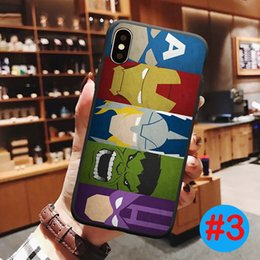 Marvel apple online shopping - Marvel Avengers Soft TPU Phone Case Phone Protect Cover Shockproof Cases For iPhone plus SE X XR XS Max