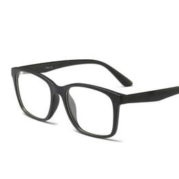 $enCountryForm.capitalKeyWord Australia - High Grade Square Men Women TR90 Eyeglasses Frames Carbon Fiber Transparent Glasses Retro Fake Glasses Clear Lens Eyewear FML