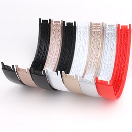 Shine band online shopping - Glossy shine color Top Headband plastic head band replacement parts for solo Wireless Headphone Hot Selling