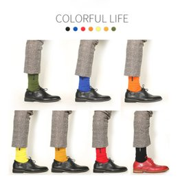 Male Family Australia - Male Socks Europe and the US style new trend of big size embroidery letters pure cotton socks wholesale men socks