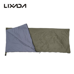 Wholesale Lixada cm Outdoor Camping Envelope Sleeping Bag Camping Travel Hiking Multifunction Ultra light g Mat