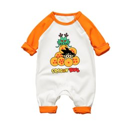 $enCountryForm.capitalKeyWord UK - Anime Dragon Ball Baby Romper Long Sleeve Baby Body Clothing Cotton 2017 Autumn Winter Newborn Baby Boy Girl Jumpsuit Clothes J190706