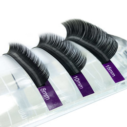 Single False Eyelashes Australia - 15 Trays Eyelash Extensions High Quality Faux Individual Eyelashes Single Size False Eyelash Soft And Natural