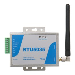 Switch Gate Australia - Remote Gate Control Phone Opener Shaking Operator Opening Gsm Door Wireless Rtu5035 Access 900 1800 Mhz For Opener Switch Rela