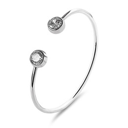 $enCountryForm.capitalKeyWord UK - European and American fashion wild zircon bracelet simple classic open hand jewelry exquisite trend ladies bracelet alloy