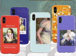 Sexy Girl Iphone Australia - Luxury Art Sexy Girl Phone Case for iphone 7 case 6 6s 8 Plus X XS MAX XR Retro Painting Women Cases Coque Capa Soft TPU Cover