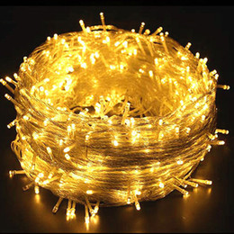 $enCountryForm.capitalKeyWord Australia - 110V 220V LED String Garland Light 10M 20M Holiday Fairy Lighting for Christmas Festival Party Garden Yard Outdoor Decoration Lighting