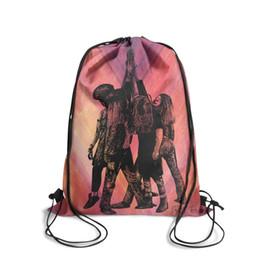 $enCountryForm.capitalKeyWord UK - Pearl Jam Ten blackFashion sports belt backpack, design retro best reusable string package, suitable for outdoor