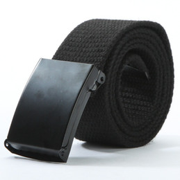 beaded buckles NZ - Automatic Buckle Nylon Belt Male New Tactical Belt Mens Military Waist Canvas Belts Cummerbunds High Quality Strap