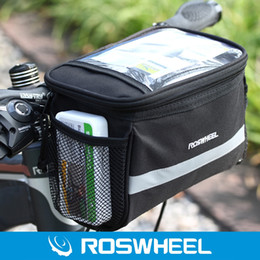 $enCountryForm.capitalKeyWord NZ - Roswheel 3.5L Bike Handlebar Bag Bicycle Front Tube Pocket 600D Map Pack Riding Cycling Supplies