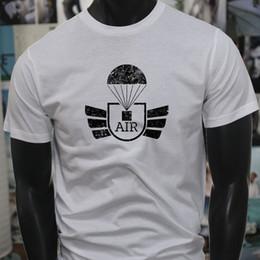 Airborne Parachute Military Army Special Forces Mens White T-Shirt Tee  Shirt Men XXXL Custom Short Sleeve Boyfriend s Plus Size Party Tshirt b7e106531