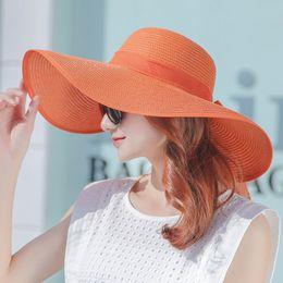 Sun Hat Summer Women Big Wide Style Versatile Ms Sun Visor Sun S for Women Cm8249