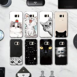 S5 Mini Tpu Case Australia - Lovely Pet Kitten Cat TPU Back Cover for Samsung Galaxy S4 S5 Mini S6 S7 Edge S8 S9 S10 Plus Note 4 5 8 9 CoverPhone Case