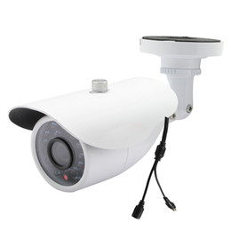 Night Weatherproof Security Camera UK - Analogy CCTV Camera Day Night Infrared Wide Angle 1200tvl Cmos with Ir-cut Bullet Security Camera Cctv Home Surveillance Outdoor 24 LED