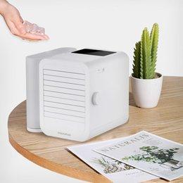 Großhandel xiaomi Microhoo Miniklimaanlagen-Kühlventilator-Touch-Screen-99-Speed Adjustment Energiesparzeit 6W 1000ml Wasser-Kapazität