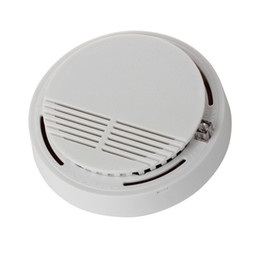 $enCountryForm.capitalKeyWord UK - Wireless Smoke Detector Home Security Fire Alarm Sensor System Cordless White Equipment