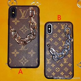 $enCountryForm.capitalKeyWord Australia - Brand design bracelet mobile phone case for iphone 11 11pro Xs max Xr X 7 7plus 8 8plus 6 6plus hard back cover