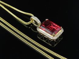 "$enCountryForm.capitalKeyWord Australia - 3 Cts White Diamond mounted on 24K American Eagle 1oz Gold Coin Pendant ASAAR10K Yellow Gold Royal Red Ruby Real Diamond Charm Pendant 1.05"""