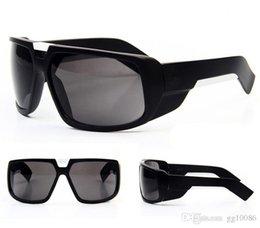 Опт Новые летние путешествия вождения Винтажный дизайн Большой каркас Металл Модные мужские женские солнцезащитные очки с оригинальной коробкой Джим Очки Классические верхние очки