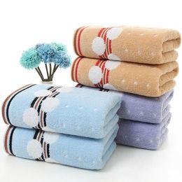 Beauty Towels NZ - Striped Dot 100% Cotton Towel Set Hand Beauty Face Spa Bath Hair Towel Was Covered Blanket Sport Home Hotel Serviette De Bain