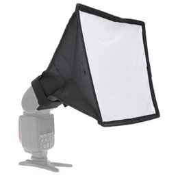 $enCountryForm.capitalKeyWord Australia - Diffuser Softbox 20 x 30cm Universal Foldable Flash Light Diffuser Softbox Soft box for Canon for Nikon DSLR Camera Wholesale car