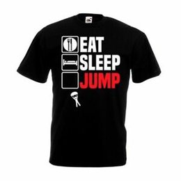 $enCountryForm.capitalKeyWord UK - Eat SFunnyp Jump Repeat T Shirt Funny Sky Dive Parachute Son Dad Christmas Gift