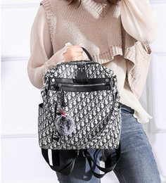 Styles Backpacks Australia - Fashion Dior Backpack Style New Arrival Designer Backpack Letter Bags Fashion Women Men School Bags Laptop Bag
