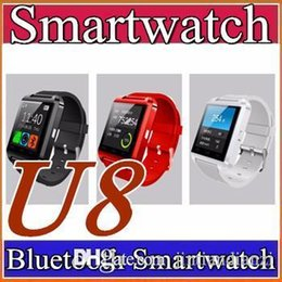 $enCountryForm.capitalKeyWord Australia - 20X Factory wholesale cheap U8 smartwatch U8 Bluetooth Smart Watch Phone Mate For Android IOS Iphone Samsung LG Sony With call reminder A-BS