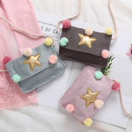 $enCountryForm.capitalKeyWord Australia - Children's Coin Purse Wallet Crossbody Messenger Bags Star Ball Shoulder Bag Purse Kids Money Cash Pocket Pouch Handbags Gift