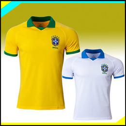 a99c231bb5e 2019 20 Brazil Jersey P.COUTINHO PELE MARCELO RONALDINHO DAVID LUIZ Soccer  Jersey 19 20 Brasil home Away Football shirts Camiseta de futbol