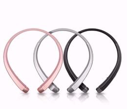 Free Wireless Headphones UK - HBS 910 HBS-910 Headphone HBS910 Earphone Sports Stereo Bluetooth 4.0 Wireless Headset Headphones With Package Free Shipping