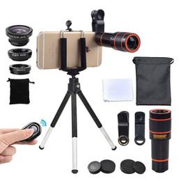 $enCountryForm.capitalKeyWord Australia - Kogngu Camera Kit 12x Zoom Lens For Smartphone Telescope Camera Lente Phone Telescope Fisheye Macro Lens Tripod Clip Bluetooth J190704