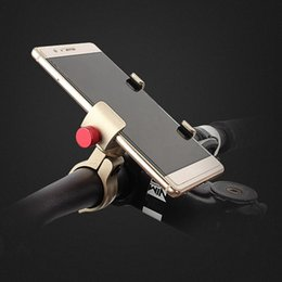 Wholesale Aluminum Bicycle Phone Holder MTB Mountain Road Bike Motorcycle Universal Handlebar Clip Stand for Smartphones GPS