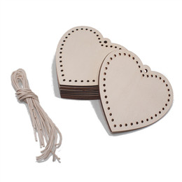Festive & Party Supplies United 50pcs 30mm Rustic Wooden Love Heart Wedding Table Scatter Decoration Craft Accessories Making Things Convenient For Customers