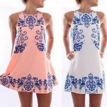 $enCountryForm.capitalKeyWord Australia - Casual Dress for Woman Summer Simple Girl Elegant Vintage Beach Wedding Dresses Stretch Mini Lady Above Knee Length Sleeveless Female Cloth