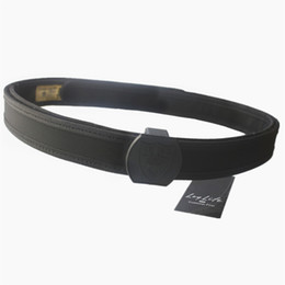 "Inner Belt UK - IPSC military men tactical belt Airsoft 1.5"" 38cm Inner Outer belt Black red BLUE YELLOW S M L XL #242015"