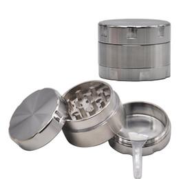 $enCountryForm.capitalKeyWord UK - Aluminum Smoking Herb Grinders 40MM 3Piece Mini Metal Tobacco Herbal Grinder Crusher CNC Diamond Teeth For Smoke Water Pipes Accessories