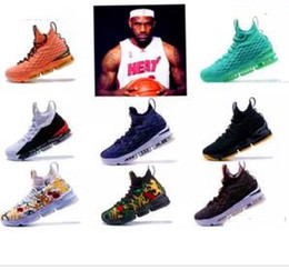 a0c378d637b 2018 New designer shoes Lebrons 15 EQUALITY breathable Lebron Basketball  Shoes for Men James 15s EP Sports Training Sneakers Size 40-46