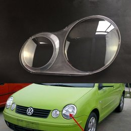 Vw Polo NZ - For Volkswagen VW Polo 2002 2003 2004 2005 Transparent Car Headlight Headlamp Clear Lens Auto Shell Cover