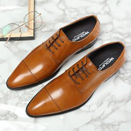 $enCountryForm.capitalKeyWord NZ - Men's Business Enchanting2019 Affairs Leisure Time Correct Dress Genuine Leather Chalaza Two Joint Work Shoes Tide
