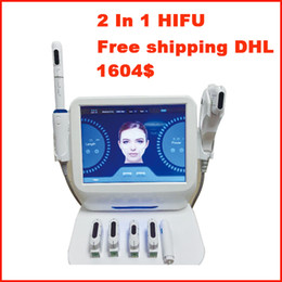 Face Lift For Wrinkles Australia - 2 IN 1 HIFU Liposonic Wrinkle Removal Weight Loss High Intensity Focused Ultrasound Hifu Face Lift Liposonic Slimming Machine For Salon Spa